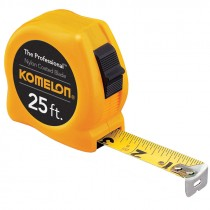 "25 ' X 1"" Komelon Proffesional Tape"