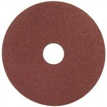 """7"""" x 7/8"""" A120 Grit Aluminum Oxide Resin Fiber Disc   HUB"""
