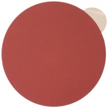 "6"" 320# Grit Rhynalox Red Line Premium PSA Sanding Disc"
