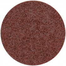 """7"""" Coarse (Brown) Hook and Loop Surface Conditioning Disc"""