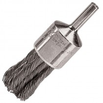 """1-1/8"""" Knot Wire End Brush .014"""" Steel"""