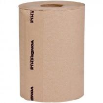 #835N VonDrehle® Preserve® Hardwound Towels, Brown, 350' Per Roll, 12 Rolls / Per Case