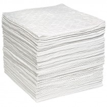 """15"""" x 19"""" Oil Only AirLaid Sorbent Pads - Heavy Weight (100 Pads/Bale)"""