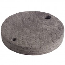 55 Gallon Drum Top Universal Sorbent Pads, Heavy Weight (Pack of 25)