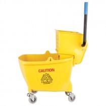 26-35 Qt Plastic Mop Bucket and Wringer