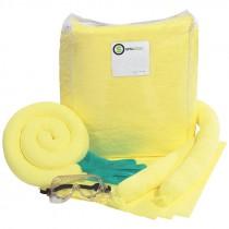 Hazmat Trucker Spill Kit in Vinyl Zipper Bag