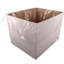 """3.0 Mil Pallet Cover / Gaylord Liner/Woven Bag Liner 51"""" x 49"""" x 97"""" (Roll of 50)"""