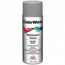 ColorWorks™ Silver Chrome Aluminum Enamel Spray Paint