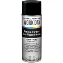 Work Day™ General Purpose Enamel Spray Paint - Flat Black