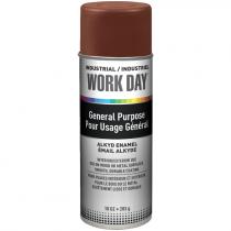 Work Day™ General Purpose Enamel Spray Paint - Brown