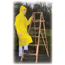 "2-Piece 48"" Raincoat, Yellow, 4-XL"