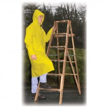 "2-Piece 48"" Raincoat, Yellow, 3-XL"