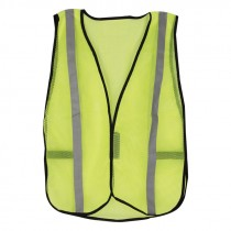Universal Size Economy Lime Green Non Rated Safety Vest