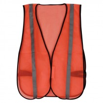 Universal Size Economy Orange Non Rated Safety Vest