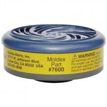Moldex® 7600 Multi Gas / Vapor Cartridge, Pair