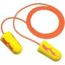 Earsoft Corded Neon Yellow Blast Foam Earplugs