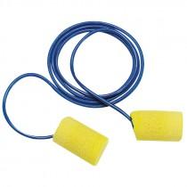 3M 311-1101 Classic PVC Foam Earplugs, Corded