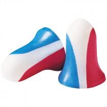 Howard Leight™ Max® Foam USA Color Earplugs, Uncorded