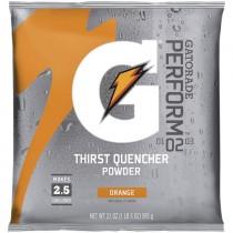 Gatorade® 2-1/2 Gal. Powder Mix - Orange (Sold  in Boxes of 32)