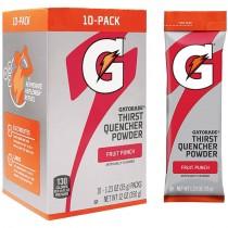 Gatorade® Fruit Punch Single Serve Powder Packs (Makes 20 Oz) - Case of 80