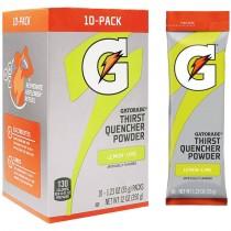 Gatorade® Lemon Lime Single Serve Powder Packs (Makes 20 Oz) - Case of 80
