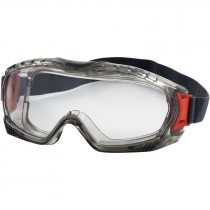 Stone™ Vented Safety Goggle, Clear Lens, Fogless®3Sixty™ Coating