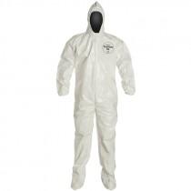 DuPont™ Tychem® SL122B WH Coverall, Medium