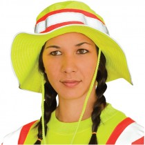 Hi-Vis Ranger Style Hat - One Size Fits Most