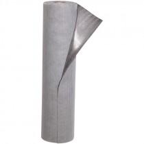 "32"" x 10' Absorbent Floor Mat, Adhesive-Back, Gray"