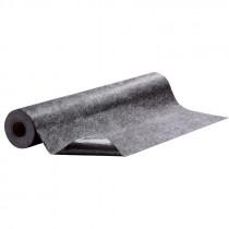 "48"" x 50' Hi-Traffic Absorbent Mat, Adhesive Back, Gray"