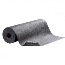 "36"" x 100' Hi-Traffic Absorbent Mat, Adhesive Back, Gray"