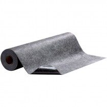 "36"" x 50' Hi-Traffic Absorbent Mat, Adhesive Back, Gray"