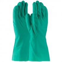 """13"""" 11 Mil. Green Nitrile Glove, Embossed Grip, Unlined, X-Large"""