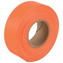 "1-3/16"" x 50 Yd Flagging Tape - Flourescent Orange"