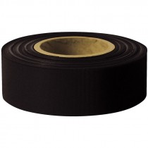 "1-3/16"" x 100 Yd Flagging Tape - Black"