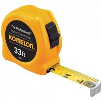 """33' X 1"""" Komelon Professional Tape"""