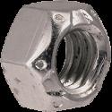 Grade C Zinc Plated Top Lock Nut