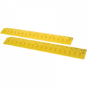 Yellow Speed Bump Cable Protector