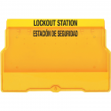 Empty Lockout Equipment Station / Wall Cabinets