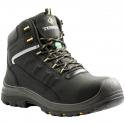 TERRA® FINDLAY WORK BOOT, COMPOSITE TOE, PUNCTURE RESISTANT SOLE, BLACK