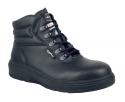 ASPHALT WORKER'S BOOT, COMPOSITE TOE, PUNCTURE RESISTANT PLATE, BLACK
