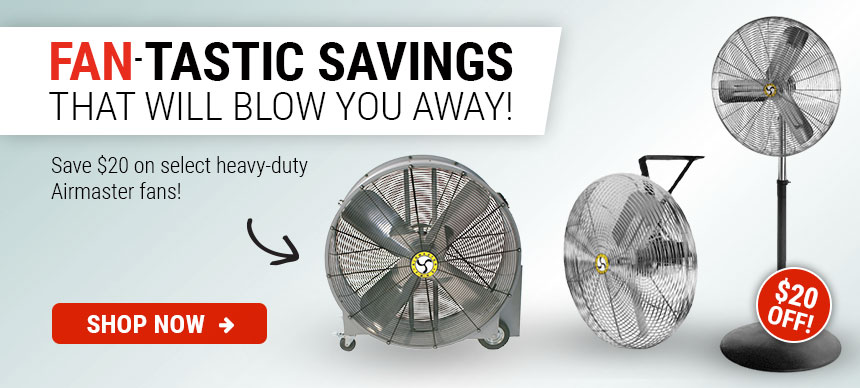 $20 Off Select Airmaster Fans