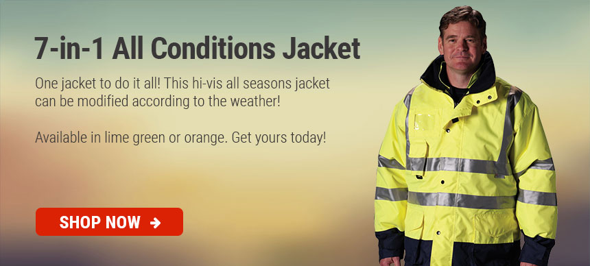 7-in-1 All Seasons Jacket