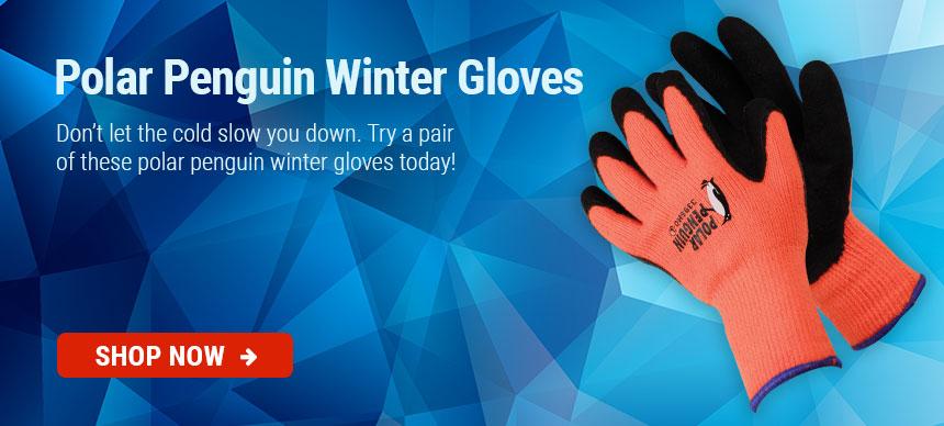 Polar Penguin Winter Gloves