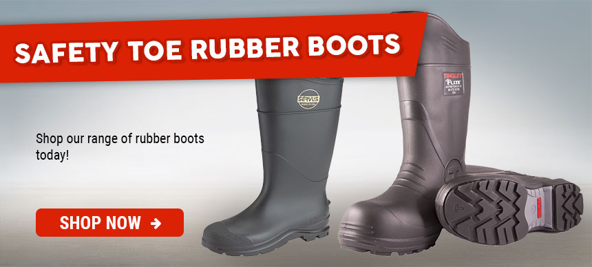 Safety Toe Rubber Boots